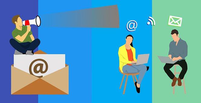 イラスト, 商業, 画像, 政策提言, メール, 職場, 仕事, 背景