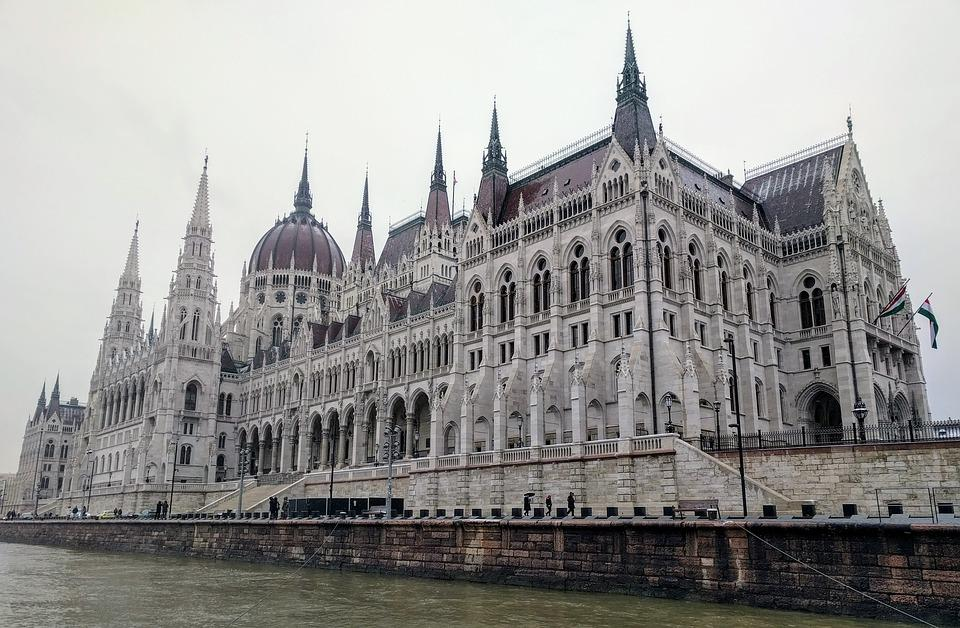 Budapest Parliament Gothic Revival Architecture