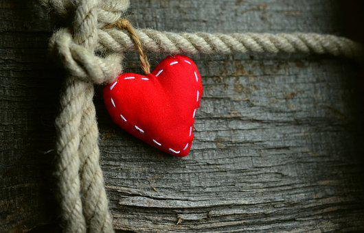 Heart, Red, Rope, Loyalty, Love