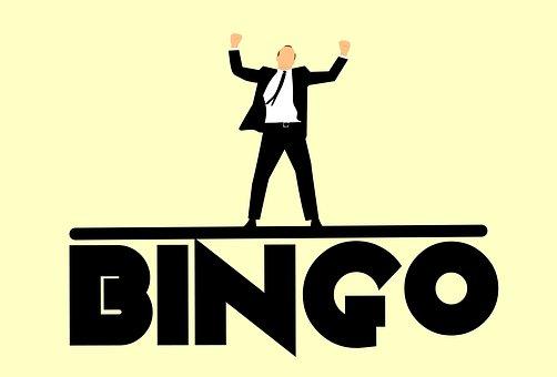 ビンゴ, 再生, ギャンブル, 勝利, 抽選, 運, 男, 人, デスクトップ