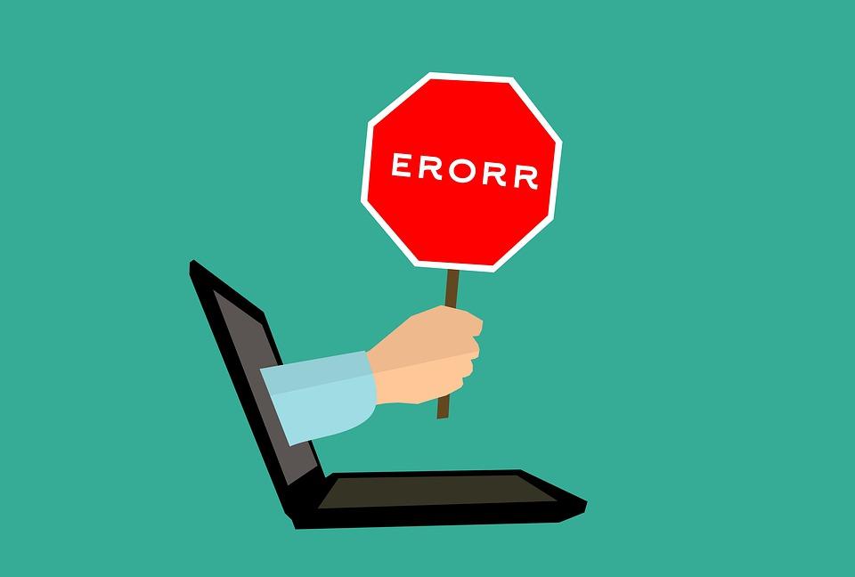 Mistake 404 Error Computer · F...