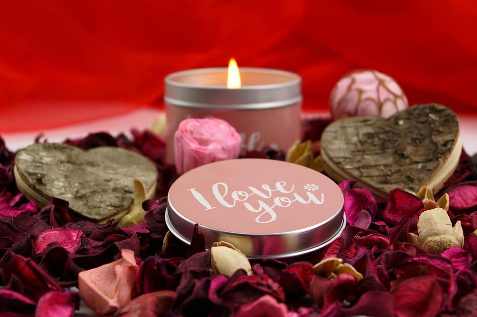 Free photo: Valentine\'S Day, Candle, Rose, Love - Free Image on ...