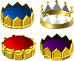 gold, crown, ornate