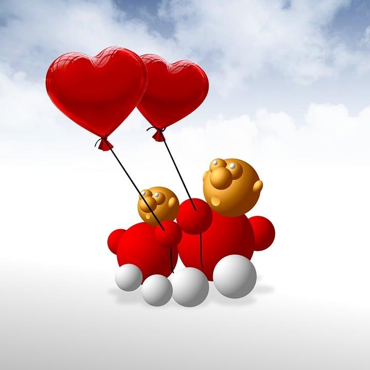 открытка с воздушными шарами в виде сердца сигаловой личная жизнь