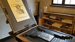 printing press, dürer, nuremberg
