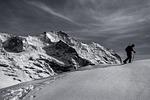 snow, mountain, panoramic