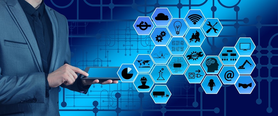 Industri, Industri 4, Web, Jaringan