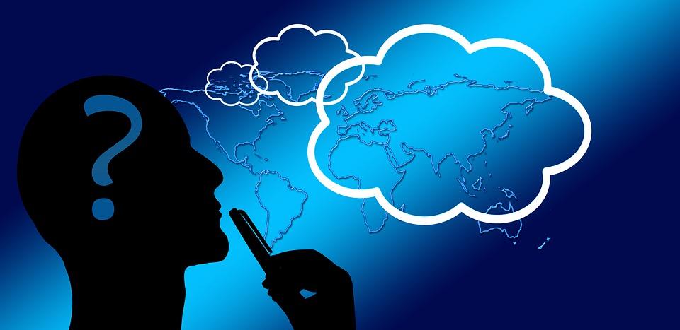 思う, 思考, 手, 反映, 電球, 思考のフラッシュ, 方向, 男性, 考慮します