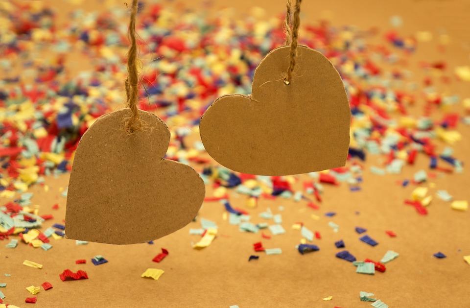 Kalp Kâğıt Duvar Kağıdı Pixabayde ücretsiz Fotoğraf