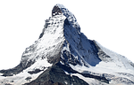 matterhorn, snow, mountain