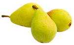 pears, fruit, background