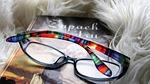 reading, closeup, glasses