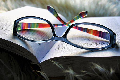 Reading, Relaxation, Glasses, Sight