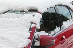 winter, snow, frost