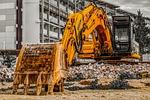 excavator, construction