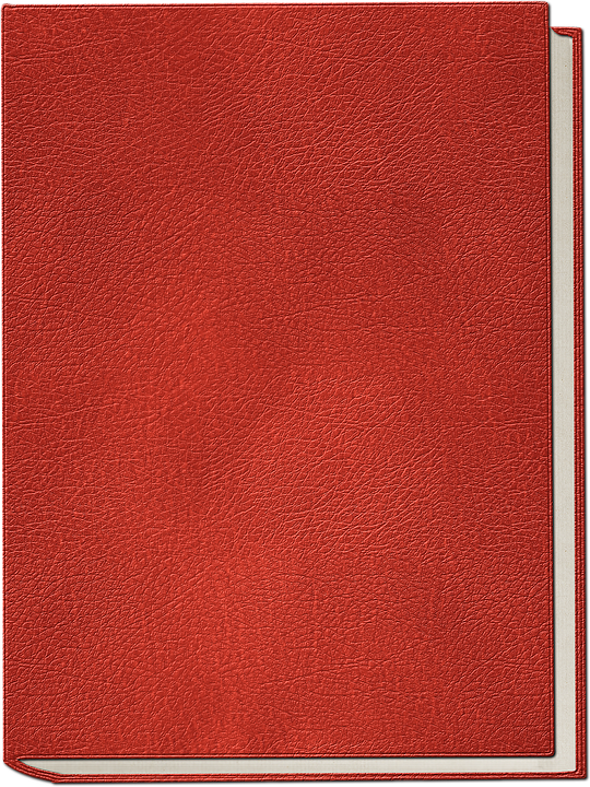 Red Book Cover Texture : Book isolated cover · free photo on pixabay