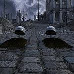 graves, ruins
