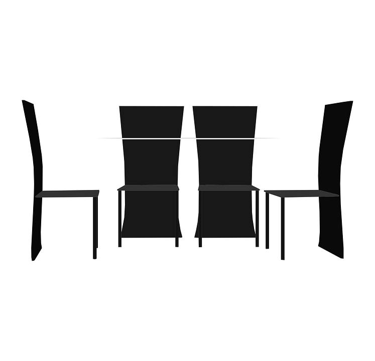 Table Chairs Design · Free vector graphic on Pixabay