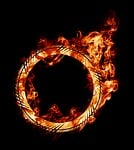 burning, fire, ring