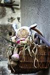 basket, food, petit