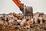 scoop, bucket, excavator