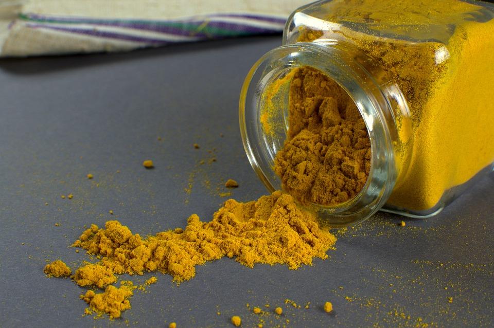 Curcuma, Vetro, Aromatico, Barattolo, Ingrediente, Cibo