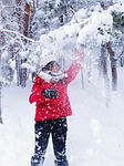 winter, snow, cold