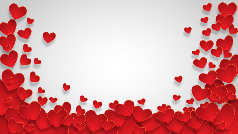 Heart, Shape, Background, Love