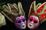 carnival, masks, ornament