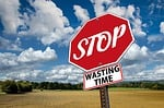 stop, time, waste