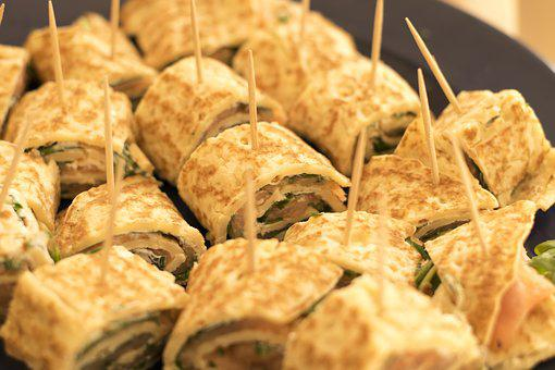 Spinach Dip and Pinwheel Recipe