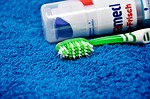 toothbrush, toothpaste, bristles