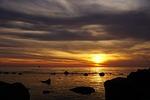 sunset, dusk, dawn