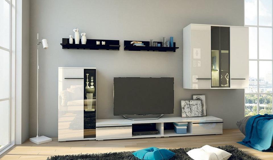 Стая, Вътре, Апартамент, Мебели, Living
