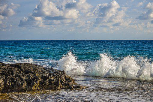 Water, Sea, Ocean, Wave, Seashore, Beach