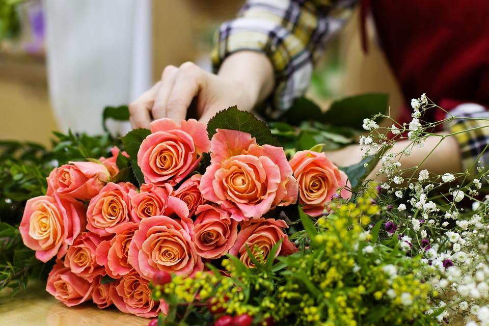 концепция цветочного магазина