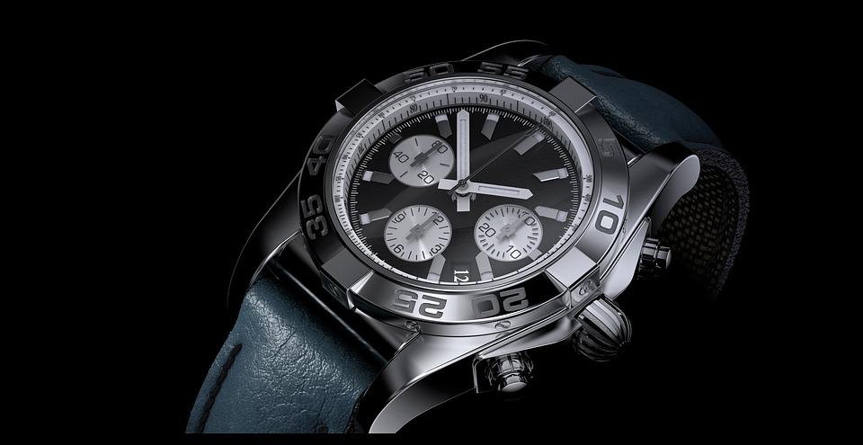 時間, クロック, 腕時計, クロノメーター, 分, 楽器, 精度, 3 D, 技術, 古典的な, クロム