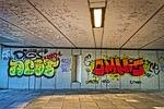 graffiti, text, spray