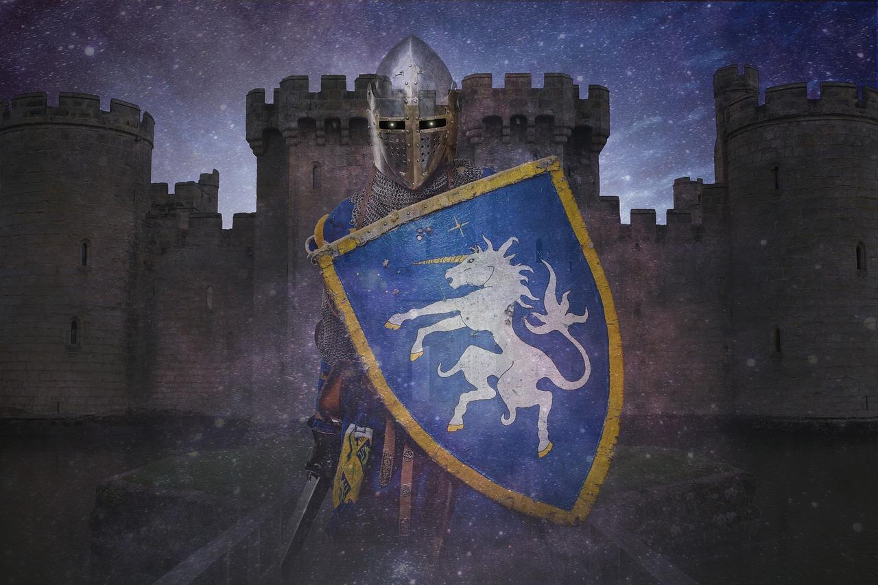 Картинки о рыцарях и замках