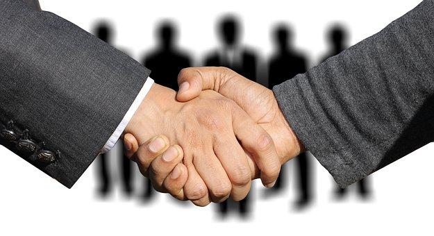 Shaking Hands, Handshake, Hands, Welcome
