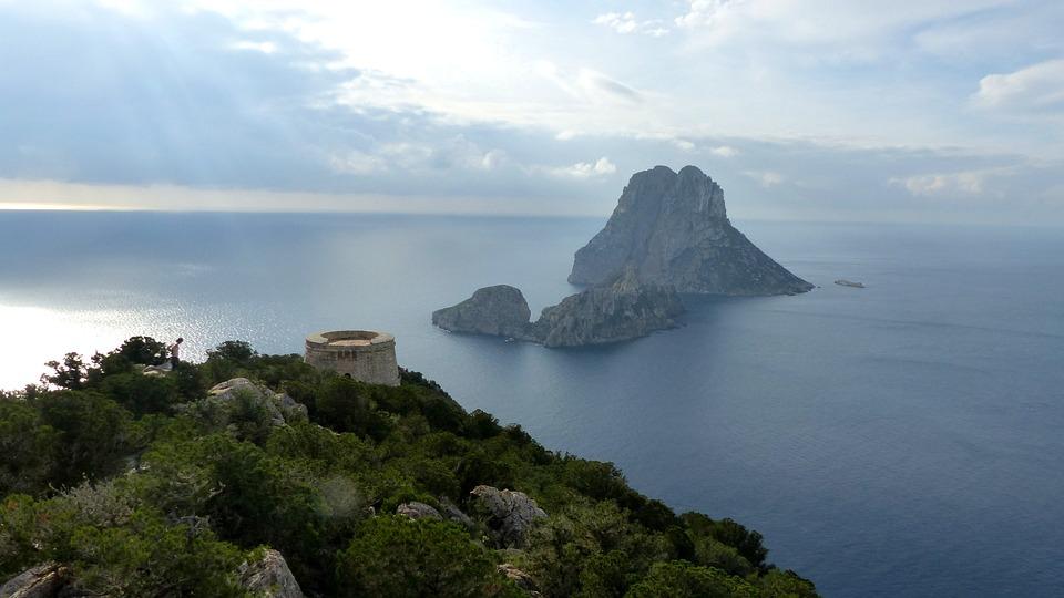 Water, Nature, Panoramic, Landscape, Sea, Ibiza