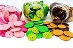 buttons, colorful, color
