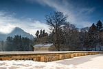 terrace, view, rock