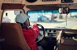 bus driver, bus, school