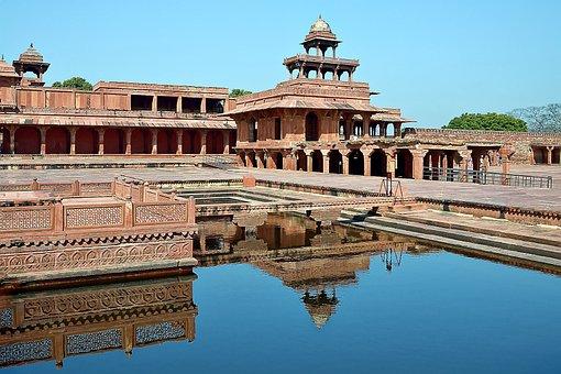 India, Fatepur, Fatehpur Sikri Fort