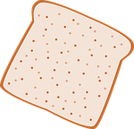 bread, slice, wholemeal bread