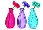 vases, glass, colorful