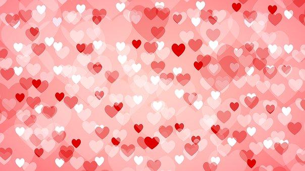 heart shape background love