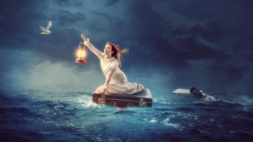 Wody, Morze, Ocean, Niebo, Na Zewnątrz, Natura, Podróży