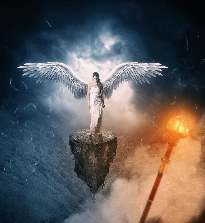 белый цвет ангелов